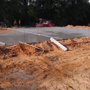 Concrete Installation Spring