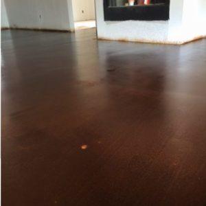 Magnolia, TX Dark Concrete Floors