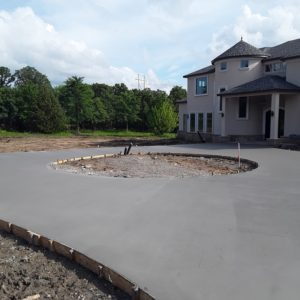 Concrete Driveway Contractor The Woodlands TX